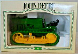 1/16 John Deere 40 Crawler Die-cast ERTL New In Box Detailed