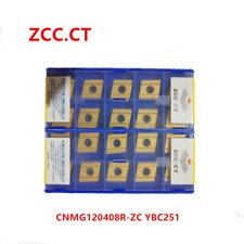 ZCC.CT 10P CNMG120408R-ZC YBC251 CNC Carbide Insert  Turning Insert for Steel