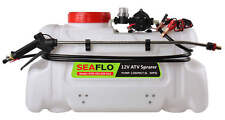 Seaflo ATV Agricultural Electric Spot Sprayer 13 Gallon 60 psi 2.2 GPM