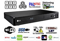 LG BP350 Refurbished REGION FREE BLU-RAY DVD PLAYER ZONE A B C DVD 0-8 USB