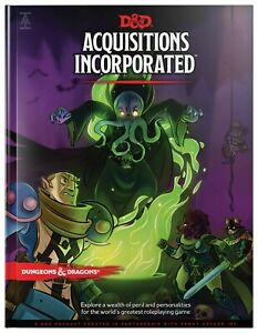 Dungeons & Dragons Acquisitions Incorporated HC (D&D Campaign Accessory) DnD