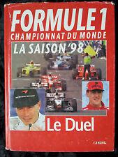Formule 1 Saison 98 1998 F1 Schumacher Ferrari Renault McLaren Williams Racing