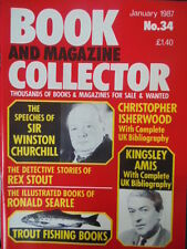 BOOK & MAGAZINE COLLECTOR  No 34 JANUARY 1987