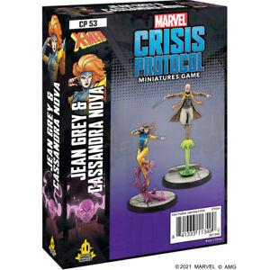 Marvel Crisis Protocol Jean Grey&Cassandra Nova