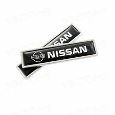 2PCS Luxury Auto Body Fender Metal Emblem Badge Sticker Decal For NISSAN New
