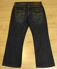 "7 FOR ALL MANKIND Ladies Blue Denim Bootcut JEANS Waist 34"" Leg 28"" - SEVEN"