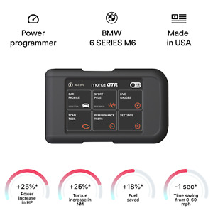 BMW 6 SERIES M6 tuning chip box power programmer performance race tuner OBD2