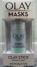 OLAY Masks. Clay Stick Shine Control, Tea Tree Extract 1.7OZ***BUY TWO & SAVE***