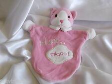 Peluches et doudous chats rose pour bébé   Idées cadeaux de Noël ... 812626f5024