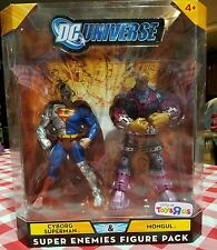 DC UNIVERSE CYBORG SUPERMAN & MONGUL TOYS-R-US TRU 2-PACK new