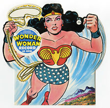 WONDER WOMAN 1966 Silver age record RARE vintage diecut cover DC Comics unopened