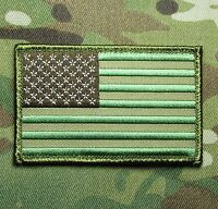 USA AMERICAN FLAG TACTICAL US ARMY MORALE MILITARY BADGE MULTICAM HOOK PATCH
