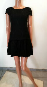 top robe chic broderie ZARA  taille 38