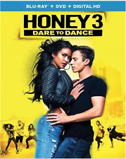 NEW! HONEY 3: DARE TO DANCE (Blu-ray+DVD 2016) FREE FAST SHIPPING