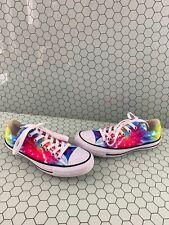 Converse All Star Multicolor Tie Dye Canvas Low Top Shoes Mens Size 5  Women's 7