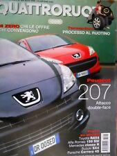 Quattroruote 606 2006 Prove Alfa Romeo 159 SW, Porsche Carrera 4S, Peugeot [Q96]