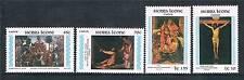 Sierra Leone 1985 Easter SG 867/70 MNH