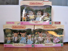 Calico Critters Family Lot - Chilpmunk, Kangaroo and Deer
