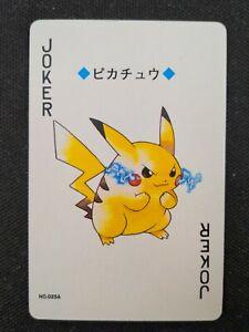 Pikachu Joker Pokémon Poker Card 1999 Pack Fresh Mint Rare Japan Lugia 25A