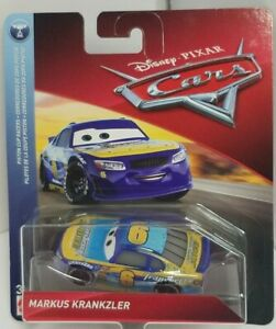 Disney Pixar Cars 3 Markus Krankzler Transberry Juice Mattel FLL26 Diecast NIP