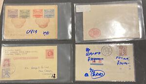 Japan Stamp Postcards (x4)