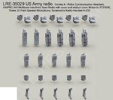 Live Resin 35029 x 1/35 US Army Radio Set (5 each of 5 diff)