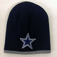 Dallas Cowboys Short Beanie DAL Skull Cap Hat Embroidered Men