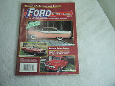 Ford Buyer's Guide ~ December 1990 Project '47 Review
