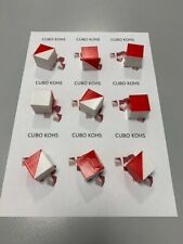 Kohs cubes. White and red cubes normally used in Wais / Wisc - 9 Units