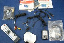 Archos 3200 TV Docking Pod Remote Control Earphones AV Cable Infrared Emitter ++