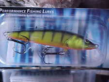Salmo Floating Sting Minnow S6F-HP in HOT PERCH for Walleye/Trout/Crappie/Bass