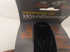 COPPIA GOMMA COPERTONE BICI MICHELIN WILDGRIPPER CITY 26X1.25