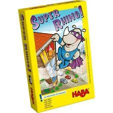 Haba Rhino Hero Juego-Niños Casa De Naipes divertido juego de construcción de apilamiento