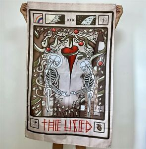 The Used Band Banner Heartwork Tapestry Cover Flag Skull Fabric Poster 3x5 ft