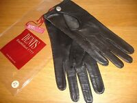 Women's Hair sheep Leather Driving Gloves BY Dents Man made Size: 6.5