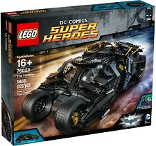 LEGO 76023 THE TUMBLER BATMAN DC COMICS BRAND NEW! RETIRED! FAST SHIPPING!