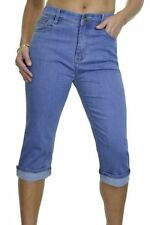 Unbranded Cotton Faded Regular Size Jeans for Women