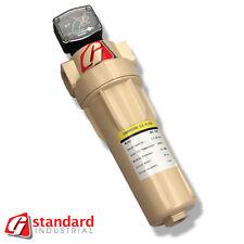 "GS 400 Compressed Air Filter Inline 400cfm Donaldson Van Air IR Zeks 2"" ports"
