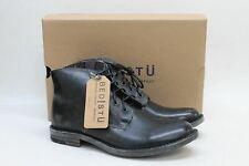 BED STU Men's Hoover Black Leather Handwash Chukka Ankle Boots Shoes UK8.5 BNIB
