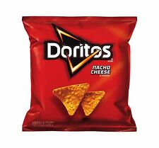 Doritos Nacho Cheese Flavored Tortilla Chips 1 Ounce (Pack of 104) - NEW