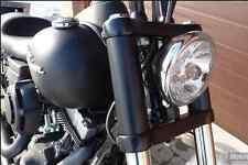 HARLEY DAVDSON DYNA STREET BOB STREETBOB SUPER GLIDE SUPERGLIDE fork cover black
