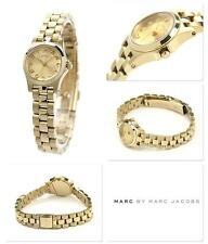 Marc Jacobs  Women's Henry Dinky  Gold Tone Gold Dial Watch  MBM3199