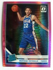 2019-20 DONRUSS OPTIC HYPER PINK PRIZM HOLO MATISSE THYBULLE Rookie Card #192