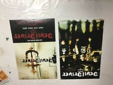 Rare! Oop! 17x11 all original Lp Cd Promo Poster Devildriver 2 sided
