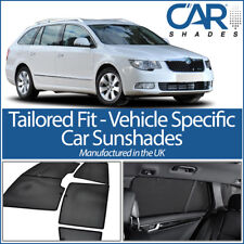 Skoda Superb Estate 09-15 UV CAR SHADES WINDOW SUN BLINDS PRIVACY GLASS TINT