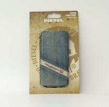 Diesel Scissor Flip Case 17539 for iPhone 5/5s, PC/Denim used, OVP