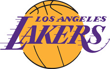 Los Angeles Lakers NBA Color Die-Cut Decal / Sticker *Free Shipping