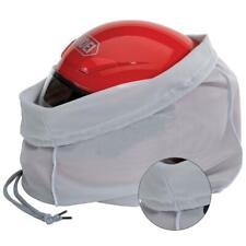 Helmet Sack Drawstring Helmet Bag Grey Oversized Super Soft Plush Protector Bags