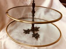 Vintage Tiered Glass 1950 Store Jewelry Display Piece