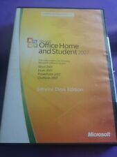 MICROSOFT OFFICE HOME AND STUDENT 2007 FULL SERVICE DESK EDITION  PRODUCT KEY